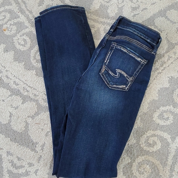 Silver Jeans Size 26 x 35